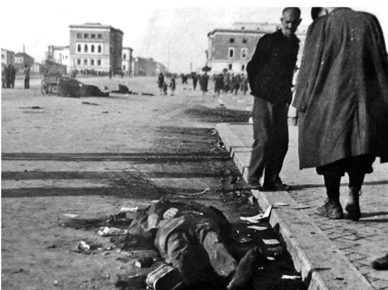 Liberazione di Tirana il 17 Novembre 1944