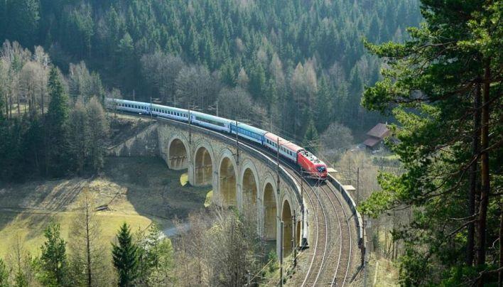 Ferrovia del Semmering di Carlo Ghega