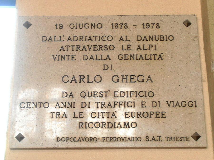 Trieste Carlo Ghega