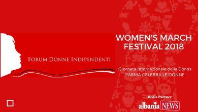 Women's March Festival 2018 Giornata Internazionale della Donna