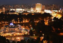 Tirana By Night Record Mondiale Di Bar In Albania Opt