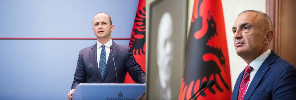 Albania-Grecia: ministro Bushati chiede autorizzazione a presidente Meta per avvio negoziati su confini marittimi