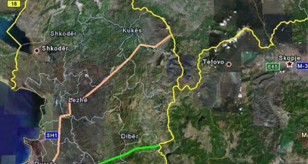 La Mappa della Rruga e Arbrit