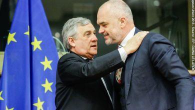 Antonio Tajani Edi Rama