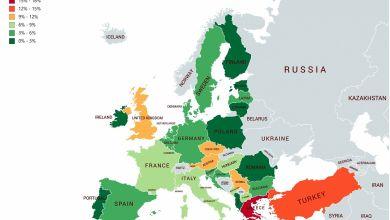 Mappa Unione Europea Opt