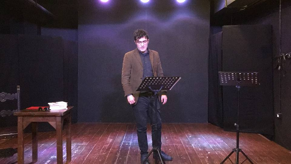 Lo scrittore arbëresh Mario Calivà