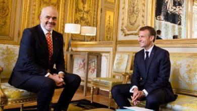 Edi Rama e Emmanuel Macron