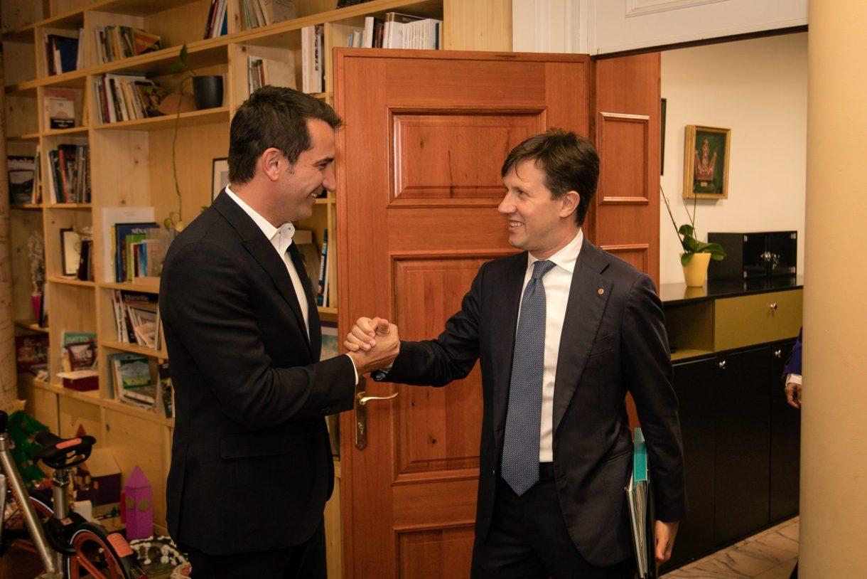 Erion Veliaj e Dario Nardella