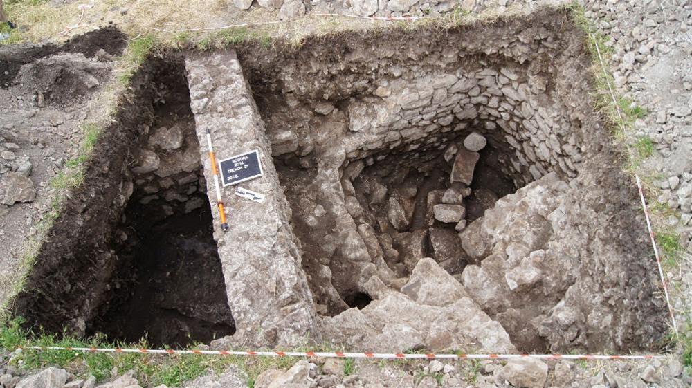 Un serbatoio dell'acqua scoperto a Scutari