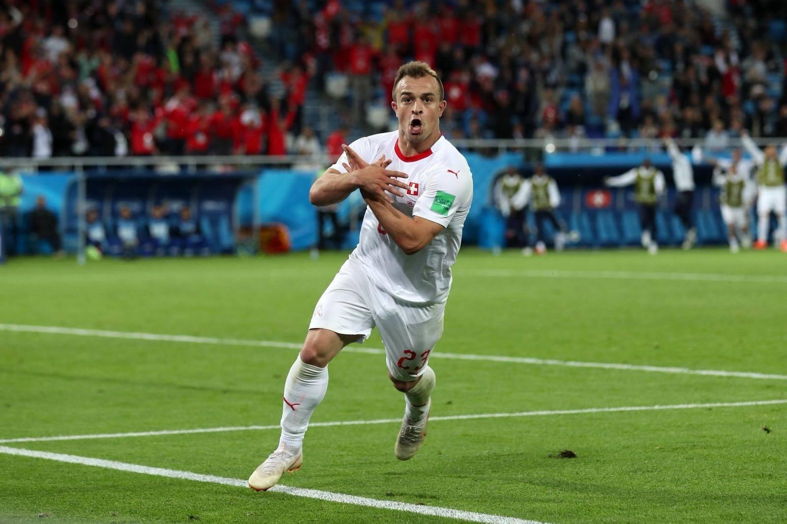 Xherdan Shaqiri Xhaka FIFA