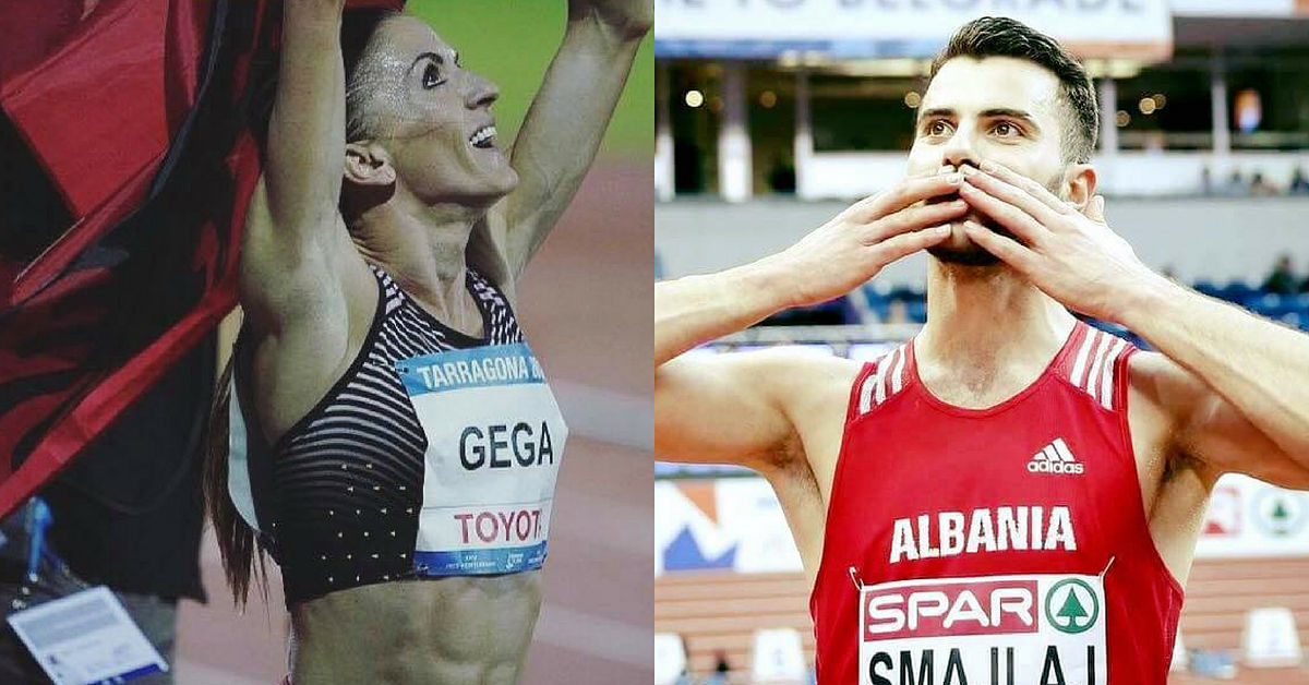 Europei di atletica 2018, Luiza Gega e Izmir Smajlaj