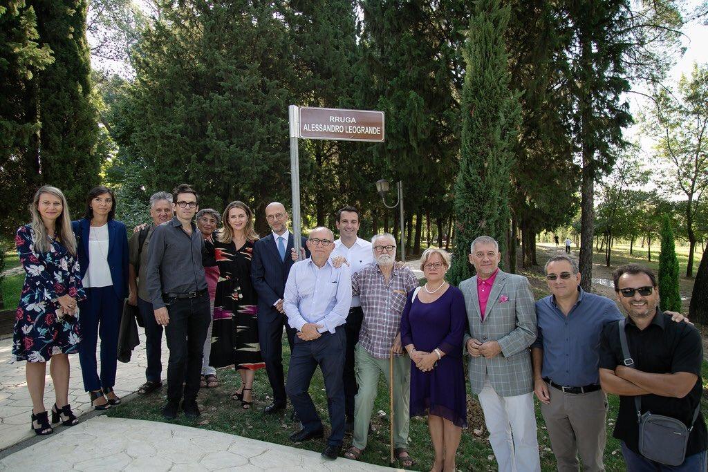 Rruga Alessandro Leogrande, Tirana, Albania
