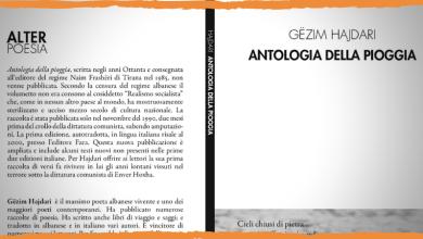 Antologia della pioggia, di Gëzim Hajdari