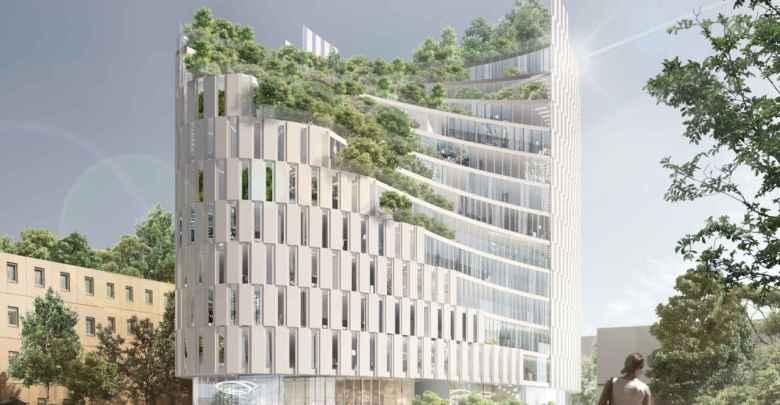 MET Tirana Building, dello studio Mario Cucinella Architects