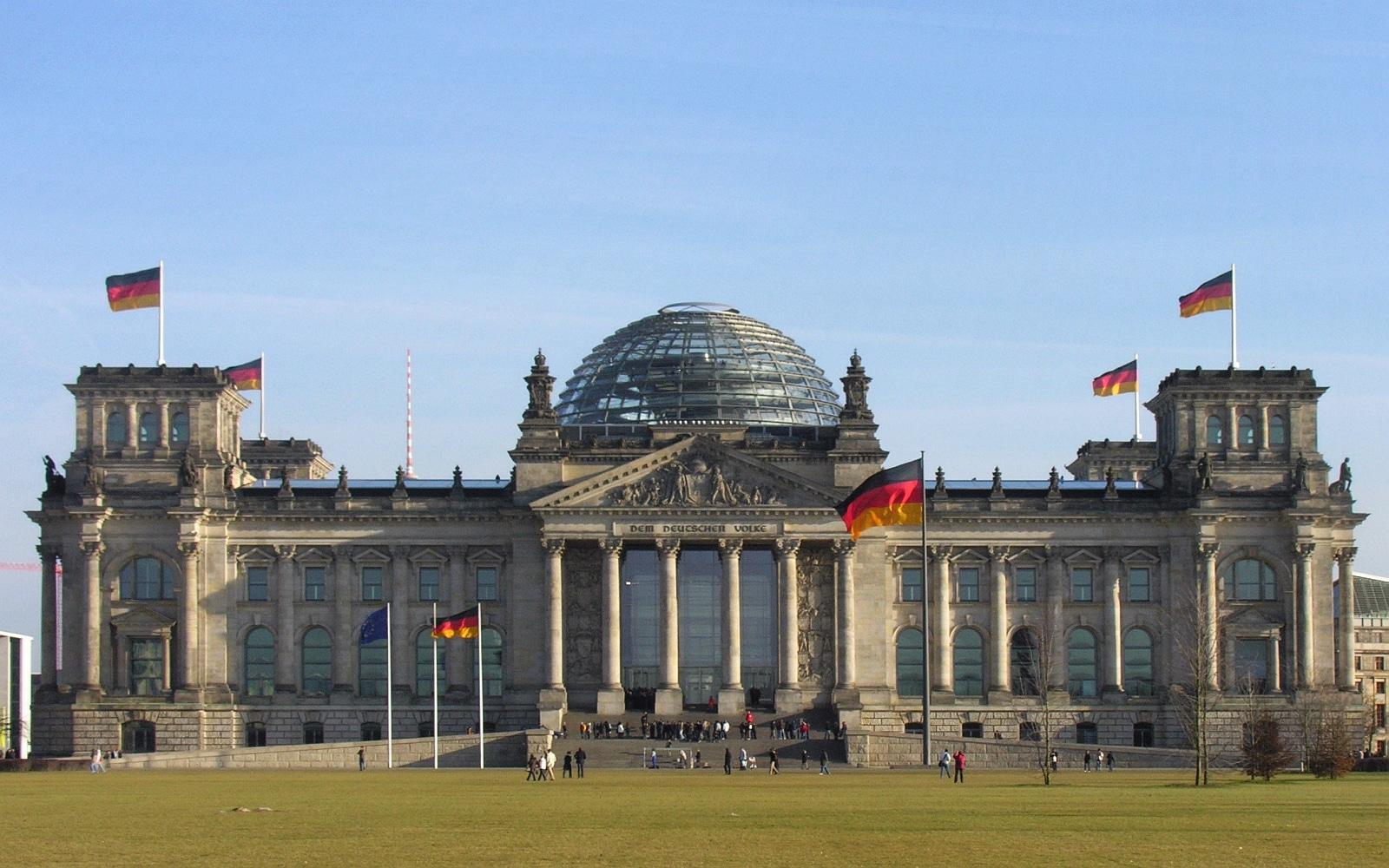 Der Deutsche Bundestag Plenarsaal Gebäude Reichstagsgebäude Platz Der Republik Berlin Foto 2009 Wolfgang Pehlemann Steinberg DSCN9832 1