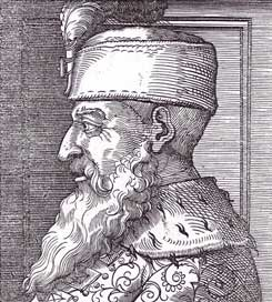 Portrait of Scanderbeg, 1533
