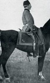 "Jäckh113: ""General Shefket Torgut Pasha reviewing the troops"" (Photo: Ernst Jäckh, ca. 1910)."