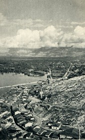 GM001: View of Shkodra, taken from the fortress (Photo: Giuseppe Massani, 1940).