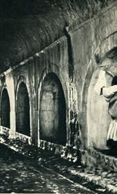 GM003: Tunnel entrance to the fortress of Shkodra (Photo: Giuseppe Massani, 1940).