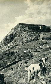 GM006: The fortress of Shkodra (Photo: Giuseppe Massani, 1940).