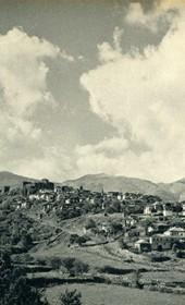 GM112: View of Gjirokastra (Photo: Giuseppe Massani, 1940).