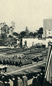 GM136: Festivities in Rome in honour of the Italian mission in Albania (Photo: Giuseppe Massani, 1940).