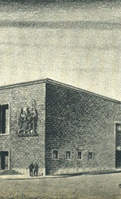 GM139: Sketch for an official residence of the Italian Viceroy (Luogoteneza) in Tirana (Photo: Giuseppe Massani, 1940).