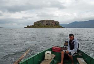 Insel Maligrad, Prespasee