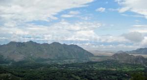 Berge bei Reç am westlichen Rand der Albanischen Alpen