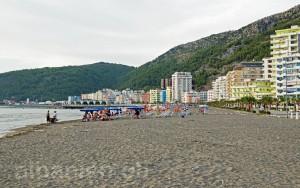 Strand von Shëngjin