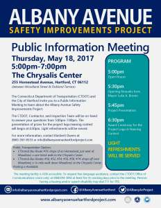 Public Information Meeting Flyer