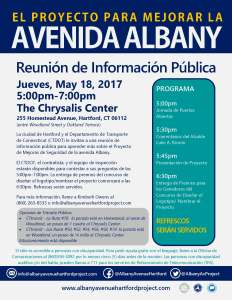 Public Information Meeting Flyer - Spanish