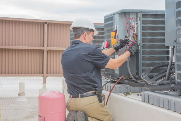 Image result for Residential and Commercial HVAC Services istock