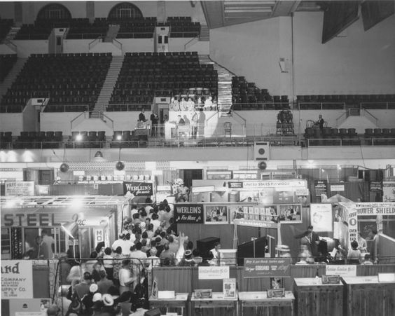 First New Orleans Home and Garden Show For Albany Woodworks, 1981