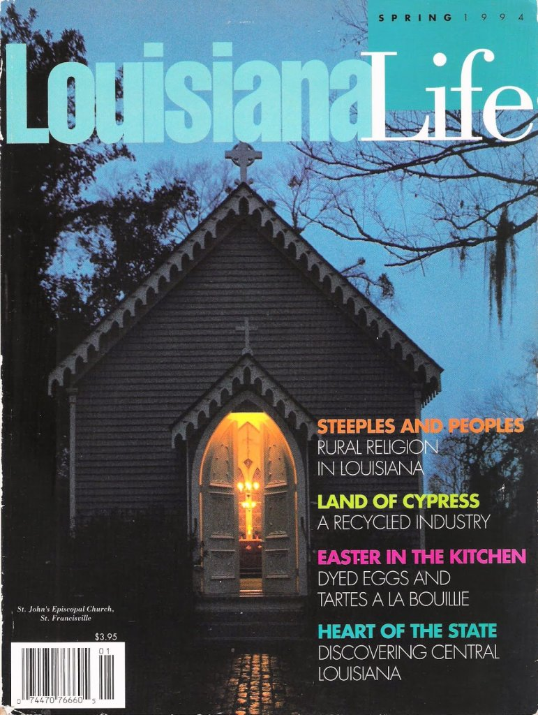 Albany Woodworks in Louisiana Life Magazine, 1994