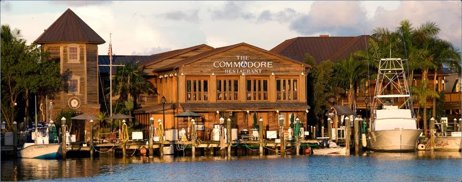 Key West Bight Commodore View of Antique Cypress Exterior