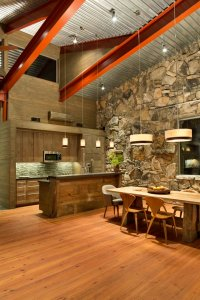 Reclaimed Pine Flooring and Wall Paneling