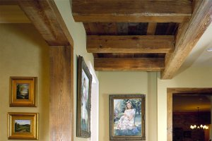 Antique Pine Beams 2