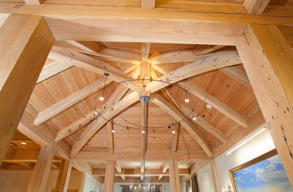 Pine Beams Chateau Collection