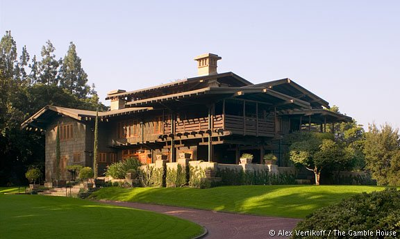 The Gamble House California