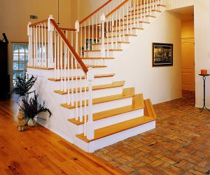 Albany Woodworks Prestige Collection Flooring Heart Pine Stair Parts