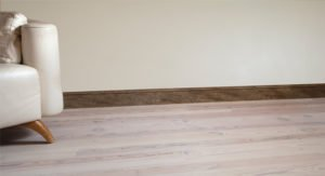 Reclaimed unfinished wood flooring
