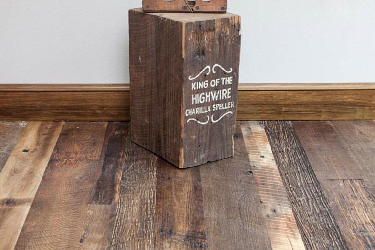 Barnwood Reclaimed Oak Flooring 1