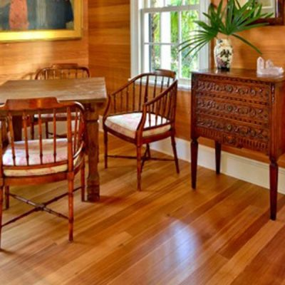 Vertical Grain Heart Pine Flooring and Wall Paneling