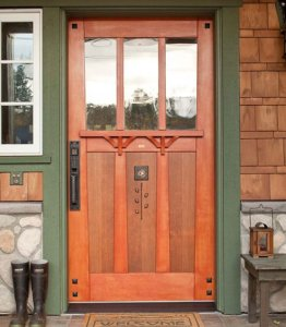 custom doors historic home