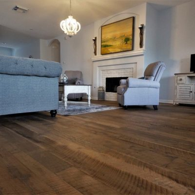 Houston Barnwood Oak Living Room Flooring