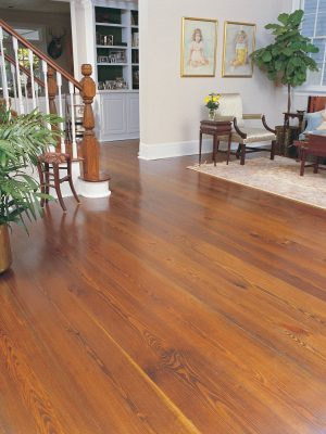 Copy of Chateau Collection Flooring Wide Plank with custom stain