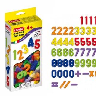 Numeri Magnetici 48 pz ricambi Quercetti