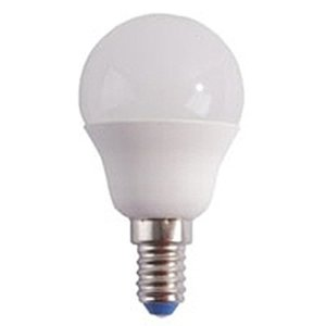 Lampada LED Sfera Opale 6w 400lumen Calda E14 2700k