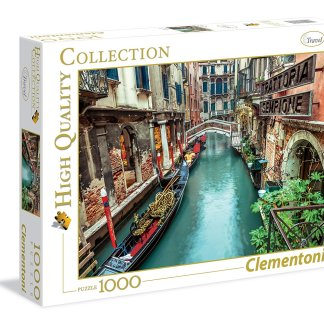 Clementoni Puzzle High Quality Collection Venice Canal 1000 Pz